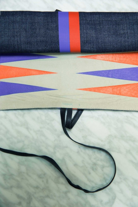 Clare Vivier travel games include backgammon (shown here) and chess.
