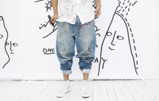 Shantell Martin Draws on Everything – Including Her Denim