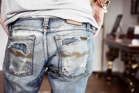 how to tell if nudie jeans are real