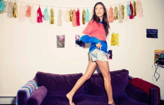 Ooh-la-la: Michele Ouellet's Paper Denim & Cloth Cut-Offs