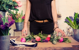 Denise Porcaro's Rag & Bones and Beautiful Florals