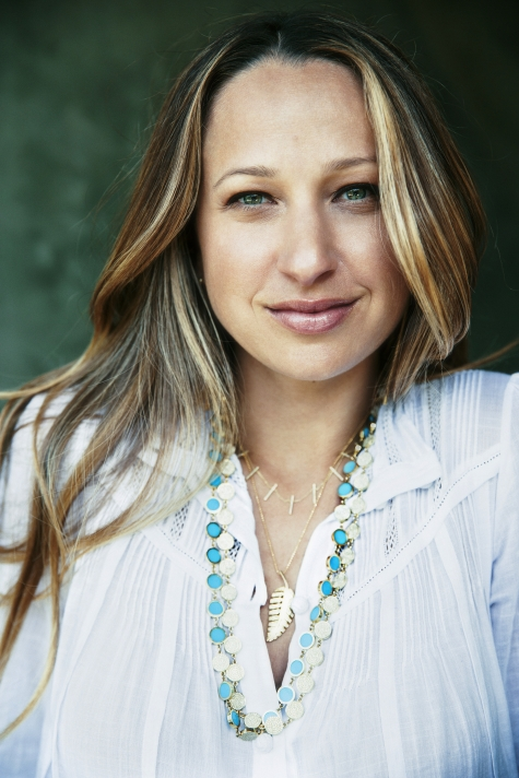 Jennifer Meyer at her Los Angeles studio and showroom.