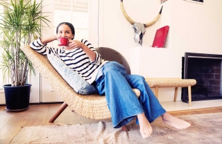 Joy Bryant's New, Not-So-Basic Terrain