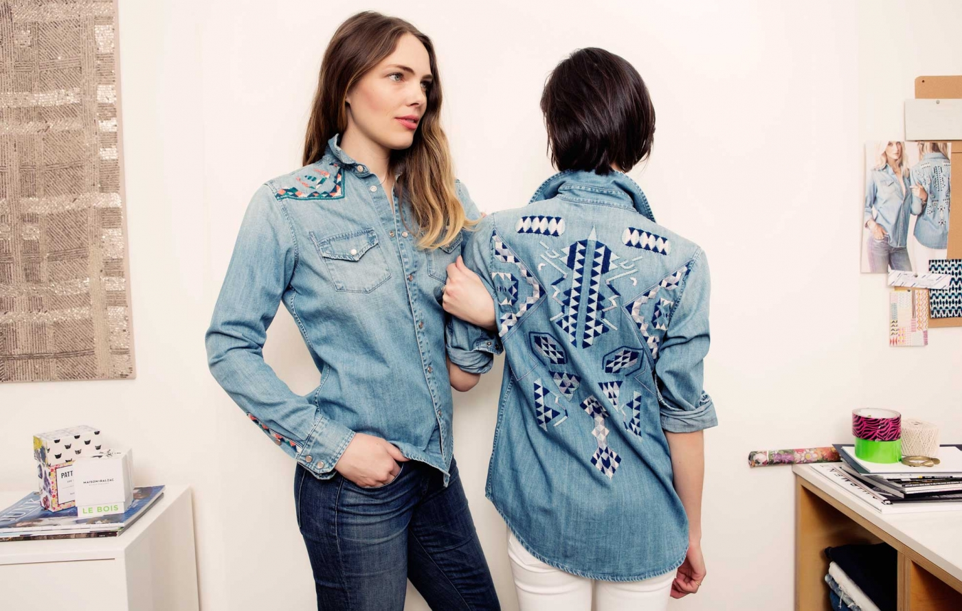 56629da54e4 Jean of the Week  Mother Denim s Embroidered Shirts - Jean STORIES