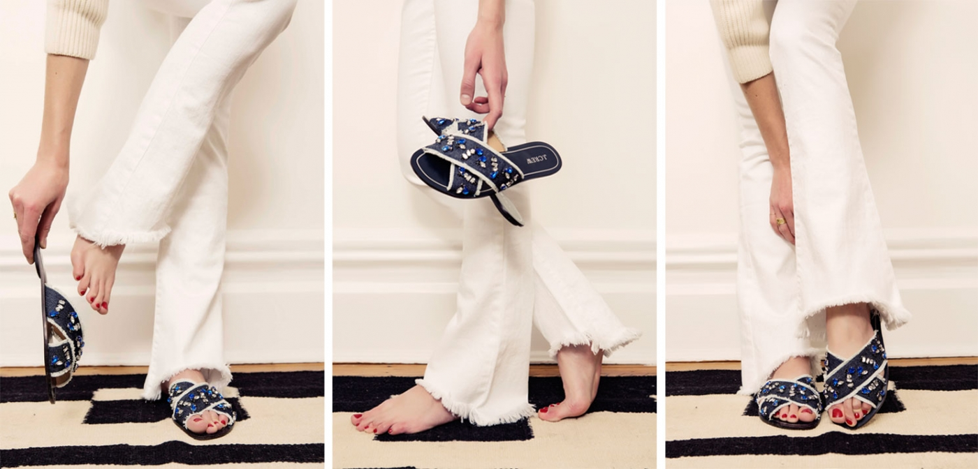 Cyprus Sandals - Jean