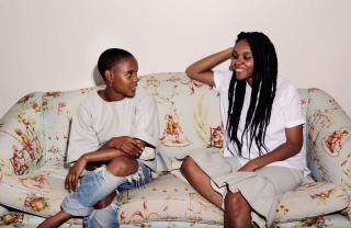 Lizzy and Darlene Okpo, Outside the Box