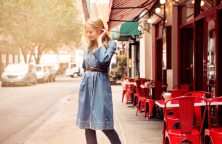 Jean of the Week: Laura Stoloff's M. Martin Denim Dress