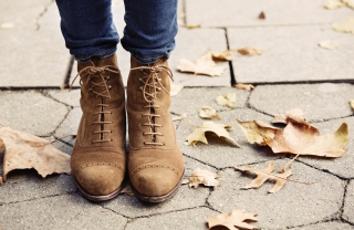 Wear Jeans With: Lace-up Boots