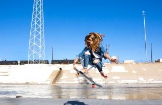 Sierra Prescott Kickflips for Madewell